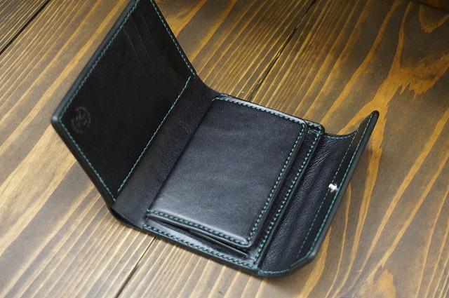 コンパクト3つ折り財布