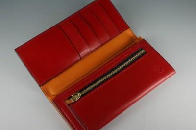 風琴マチ長財布 (2)